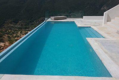 Eco Pool with solar energy